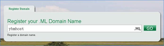 ML免费顶级域名申请图文教程